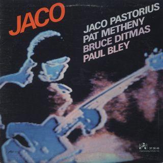 Jaco Pastorius, Pat Metheny, Bruce Ditmas, Paul Bley / Jaco
