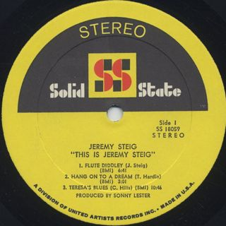 Jeremy Steig / This Is label
