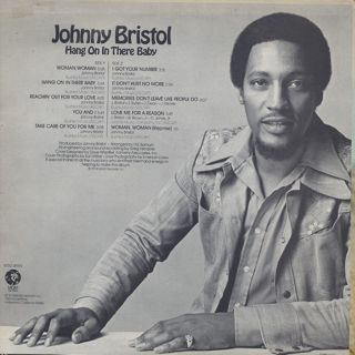 Johnny Bristol / Hang On In There Baby back