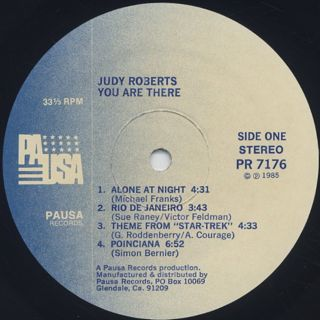 Judy Roberts / You Are There label