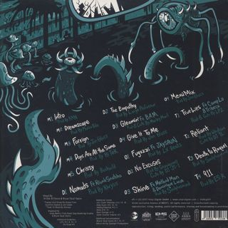 M-Dot / Ego And The Enemy back