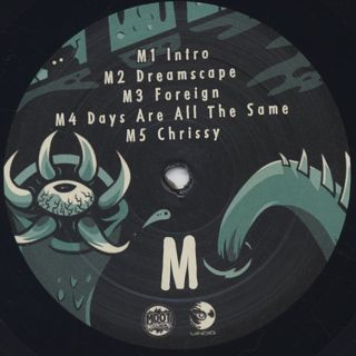 M-Dot / Ego And The Enemy label