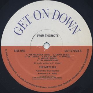 Maytals / From The Roots label