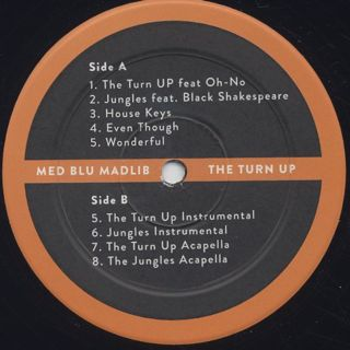 Med, Blu, Madlib / The Turn Up label
