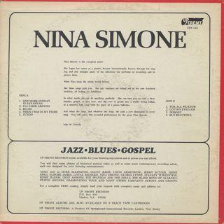 Nina Simone / Nina Simone back