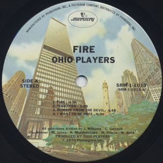 Ohio Players / Fire label