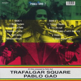 Pablo Gad / Trafalgar Square back