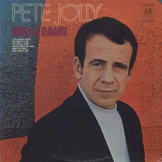 Pete Jolly / Give A Damn front
