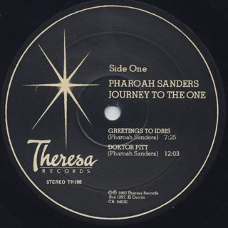 Pharoah Sanders / Journey To The One label
