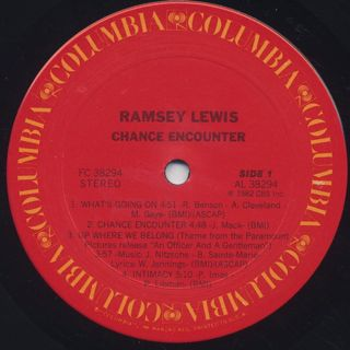 Ramsey Lewis / Chance Encounter label