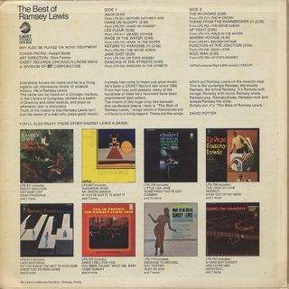 Ramsey Lewis / The Best Of Ramsey Lewis back