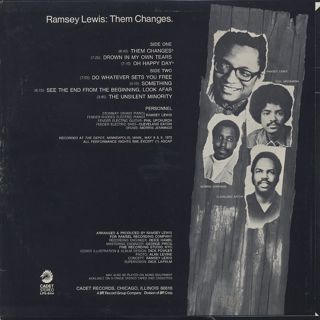 Ramsey Lewis / Them Changes back