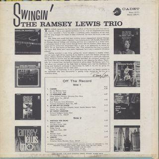 Ramsey Lewis Trio / Swingin' back