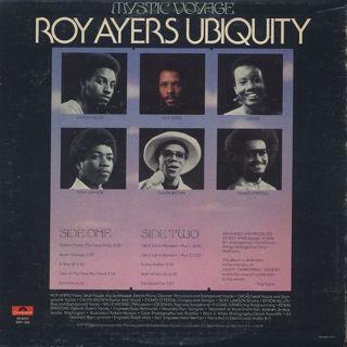 Roy Ayers Ubiquity / Mystic Voyage back