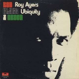 Roy Ayers Ubiquity / Red Black & Green front