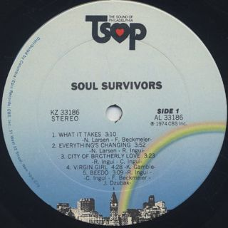 Soul Survivors / S.T. label