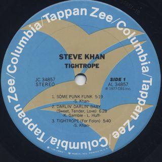 Steve Khan / Tightrope label