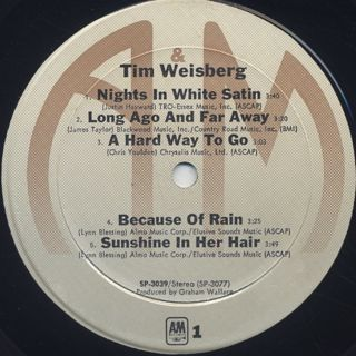 Tim Weisberg / S.T. label