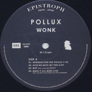 Wonk / Pollux label