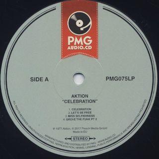 Aktion / Celebration label