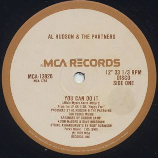 Al Hudson & The Partners / You Can Do It (12