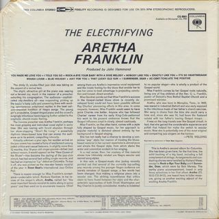 Aretha Franklin / The Electrifying back