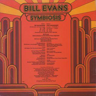 Bill Evans / Symbiosis back