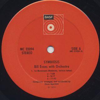 Bill Evans / Symbiosis label