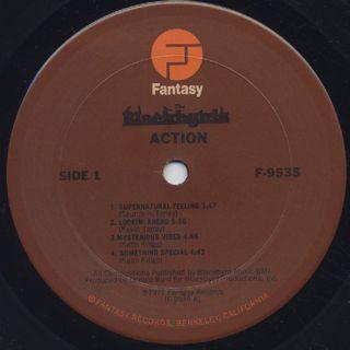Blackbyrds / Action label