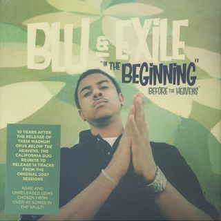 Blu & Exile / In The Beginning (Below The Heavens) front