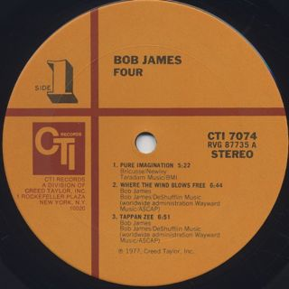 Bob James / 4 label