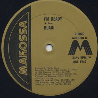 Buari / Koko Si c/w I'm Ready label