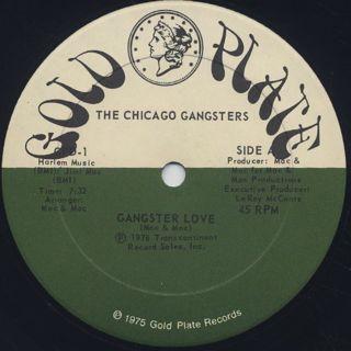 Chicago Gangsters / Gangster Love c/w Feel Like Making Love back