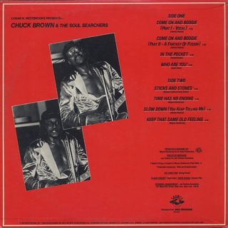 Chuck Brown and The Soul Searchers / Funk Express back