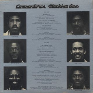 Commodores / Machine Gun back