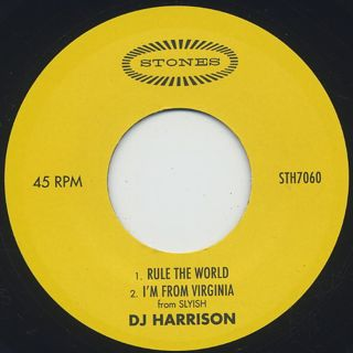 DJ Harrison / Rule The World back
