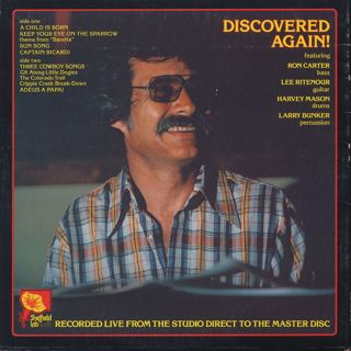 Dave Grusin / Discovered Again! back