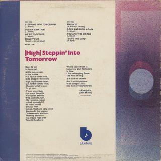 Donald Byrd / Stepping Into Tomorrow back