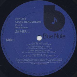 Eddie Henderson / Heritage label