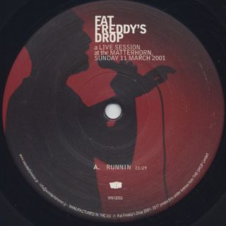 Fat Freddy's Drop / Live At The Matterhorn label