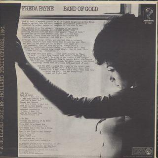 Freda Payne / Band Of Gold back