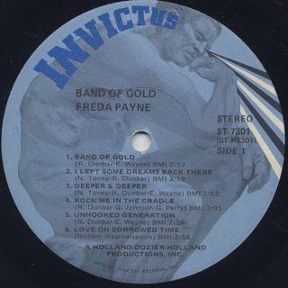 Freda Payne / Band Of Gold label