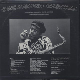 Gene Ammons / Brasswind back