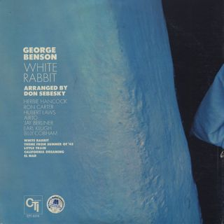 George Benson / White Rabbit back
