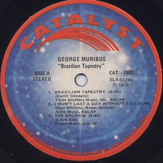 George Muribus / Brazilian Tapestry label