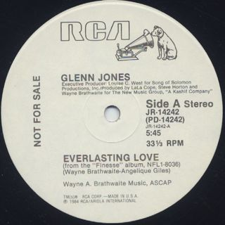 Glenn Jones / Everlasting Love