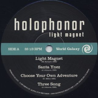 Holophonor / Light Magnet label