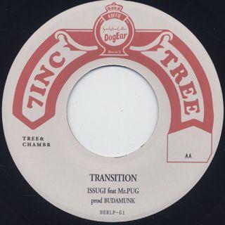 ISSUGI / Evil Step c/w Transition label