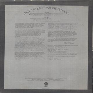Jack McDuff / Magnetic Feel back