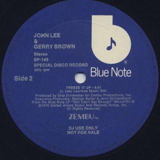 John Lee & Gerry Brown / Strut 'N' Get Up label